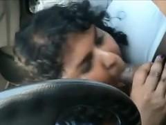 Fat Indian Gives A Blowjob..