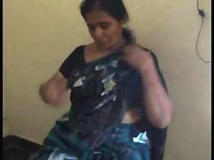 Indian of age Tamil bhabhi..