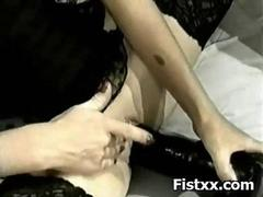 Racy Pussy Chick Fisted And..