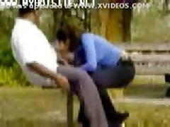 Blowjob in a park -