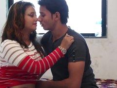 bhabhi romancing around devar