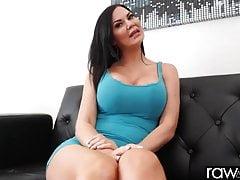 Hot beamy breast hard..
