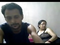 Indian mature couple -