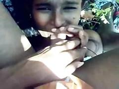 Indian scared telugu girl..