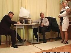 Secretary beseeching boss to..
